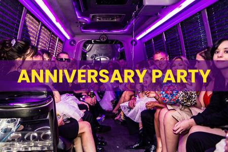 Wedding Anniversary Party Bus Las Vegas