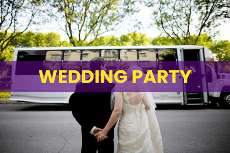 Wedding Party Bus Las Vegas